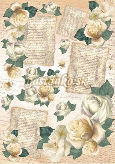 Ruže a listy