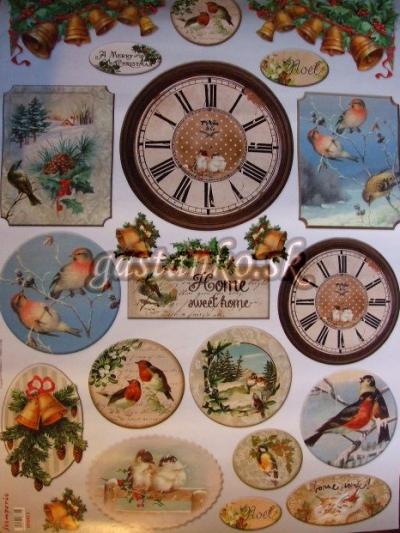 Vtáčiky a hodiny