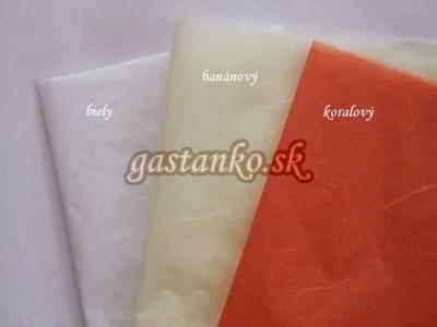 Ryžový papier koralový