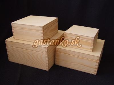 Krabička štvorec v.4