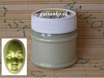 AF perleťová  zeleno-zlatá