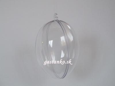 Akrylové vajíčko 8cm