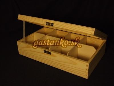 Krabička čajová 8SU