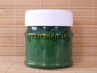 Farba na textil metal zelená