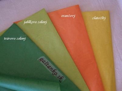 Ryžový papier oranžový