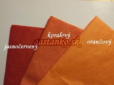 Ryžový papier jasnočervený