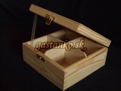 Krabička čajová 4SU