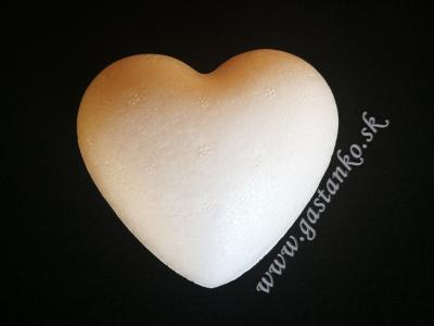 Polystyrénové srdiečko 9cm