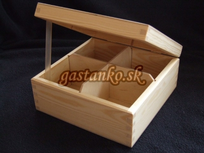 Krabička čajová 4BU