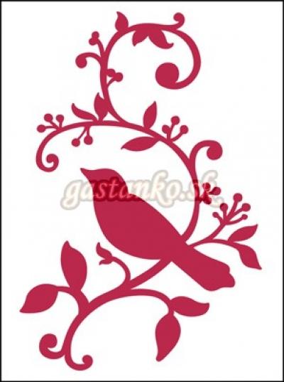 Vtáčik na konári DOUBLE