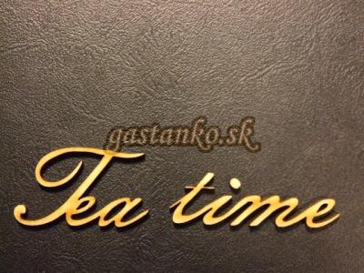 Nápis TEA TIME