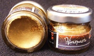 Vosková pasta metalická zlatá