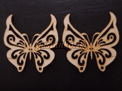 Ornamentálny motýľ 8cm