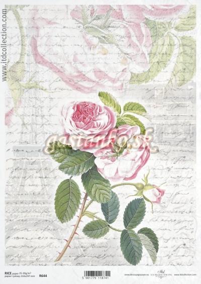 Písmo s ružou