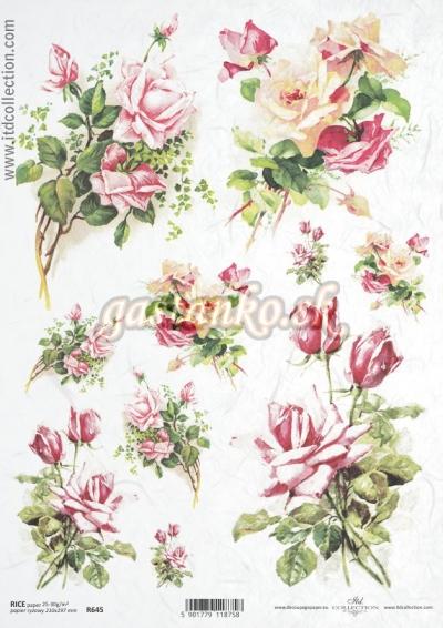 Kytice ruží