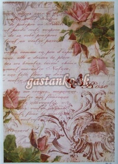 Ruže a písmo