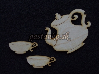 Elegantný čajový set