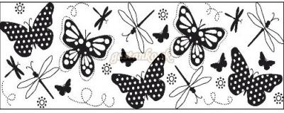 Nekonečná pečiatka  Motýle