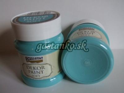 DPS tyrkis modrá