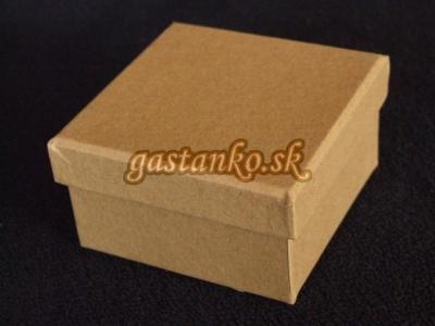 Kartónová krabička štvorček 9x9x5