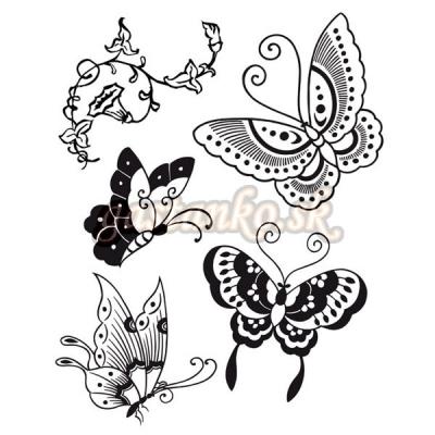 Pečiatka HD Motýle