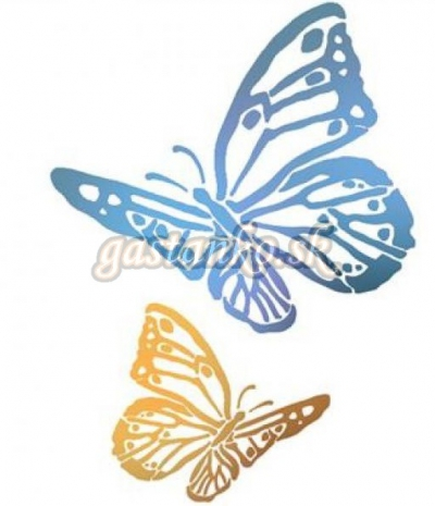 Šablóna Motýle
