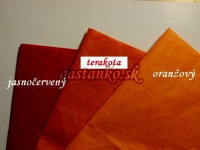 Ryžový papier terakotový