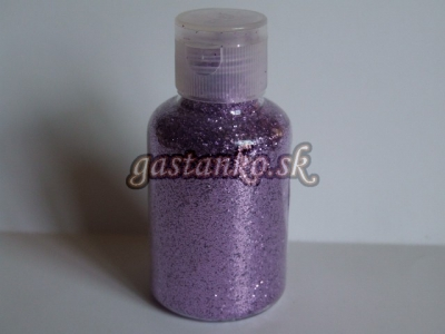 Dekoglitre fialové