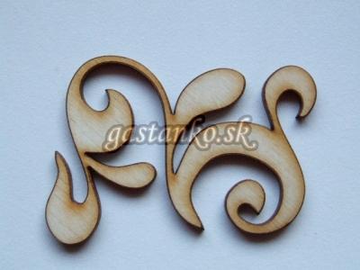 Ornamentík 3x2cm