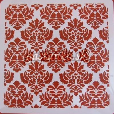 Šablóna Ornamentová textúra