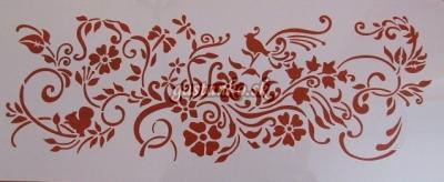 Šablóna Kvety a ornamenty