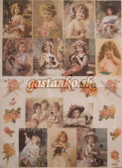 Dievčatká a ružičky
