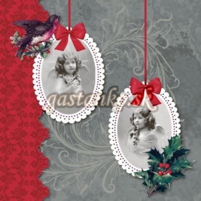 Retro Vianoce v striebornom