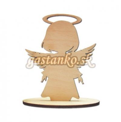 Anjelik na podstavci