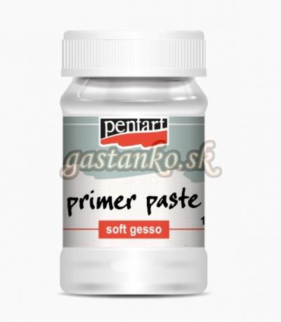Podkladová pasta jemná biela SOFT GESSO