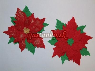 Vianočné ruže červené