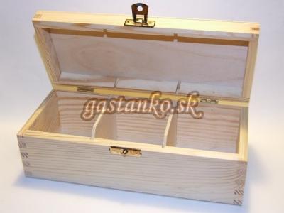 Krabička čajová 3SU