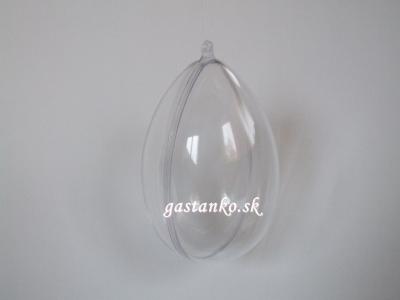 Akrylové vajíčko 8cm s deliacim panelom