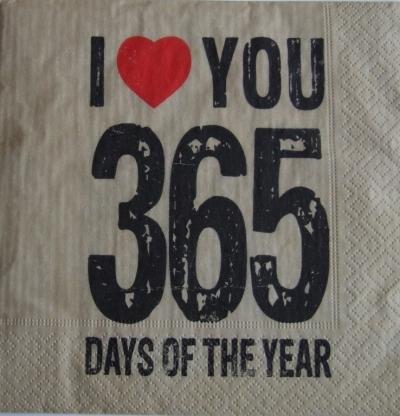 Ľúbim ťa 365 dní v roku