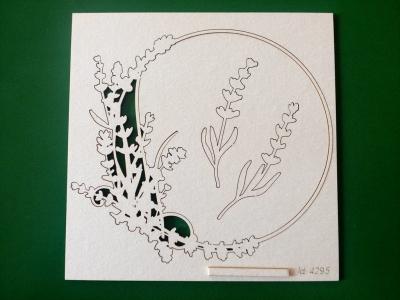 Levanduľový rámček