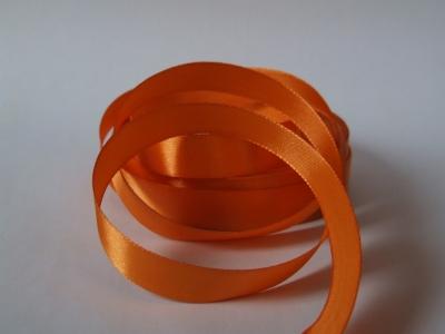 Saténová stužka 15mm oranžová