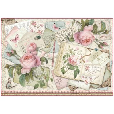 Kniha s ružami