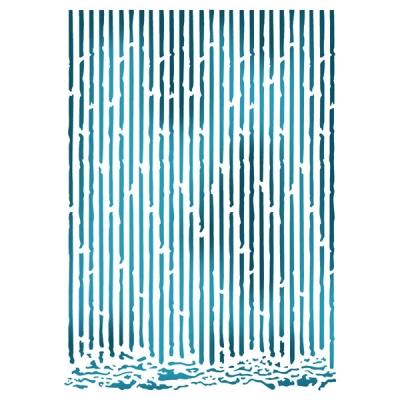 Bambusová stena