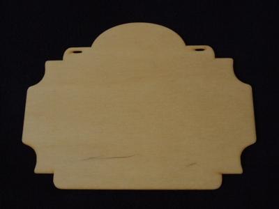 Ozdobná tabuľka 15x20cm