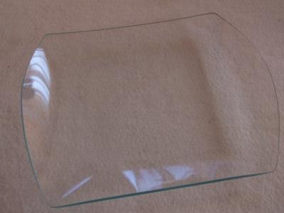 Sklenený tanier 2-oblúkový 25x32cm