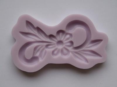 Silikónová forma kvietok s ornamentom