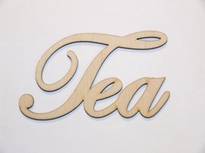 Nápis Tea 5cm
