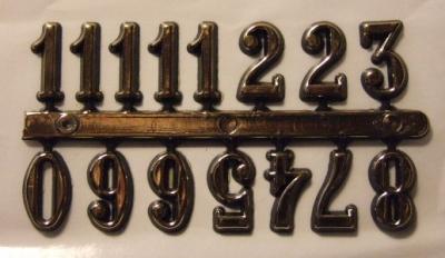 Čísla na hodiny AZ20