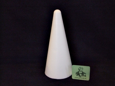 Polystyrénový kužel 20cm