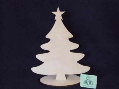 Vianočný stromček na podstavci